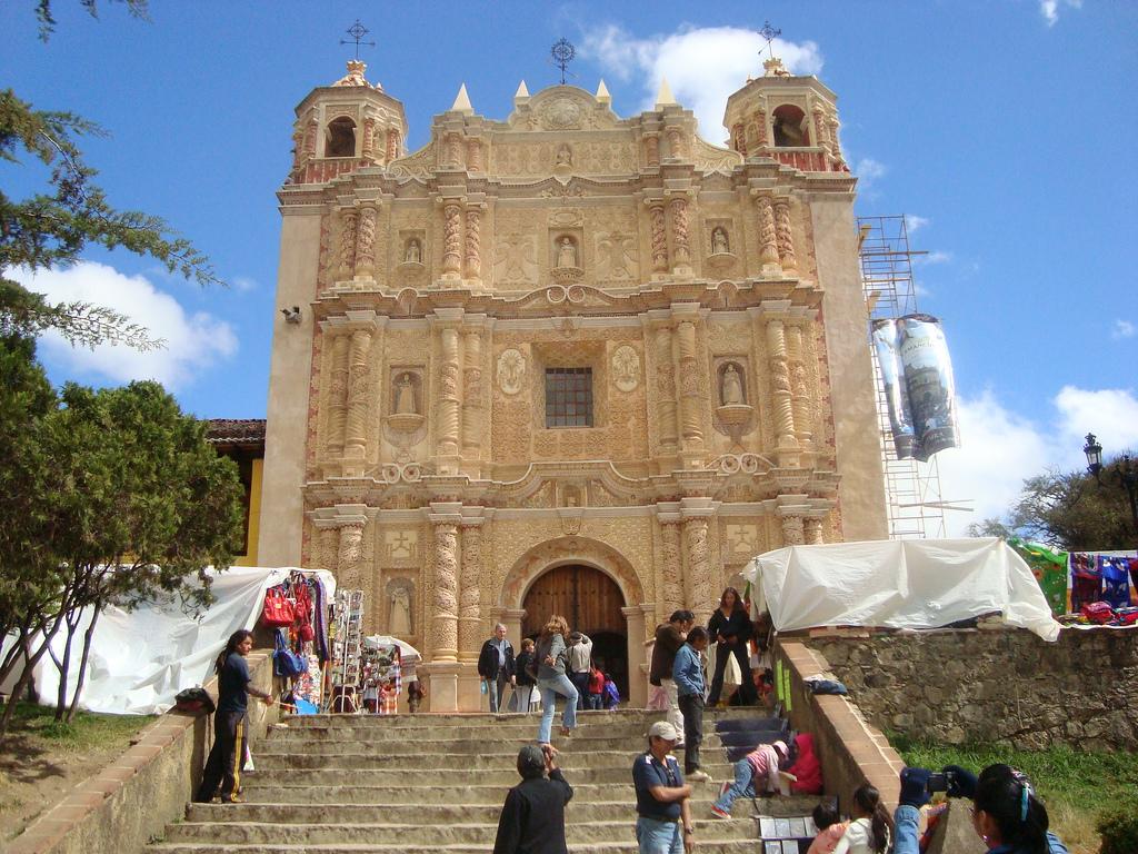 Iglesia de Santo Domingo en San Cristóbal de las casas Chiapas