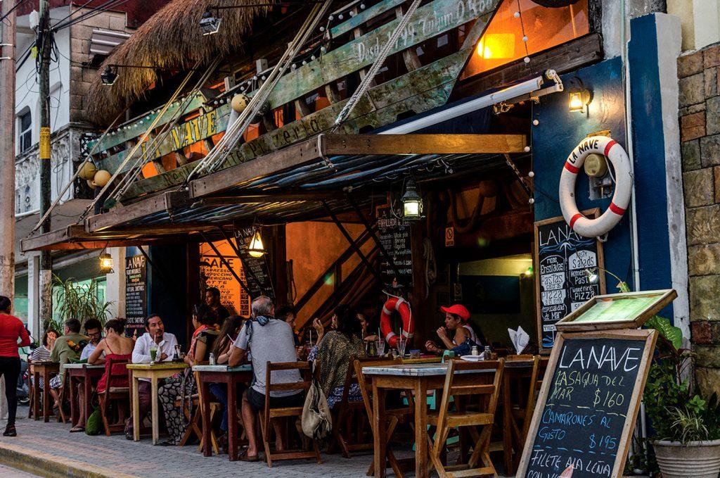 Restaurant en Tulum