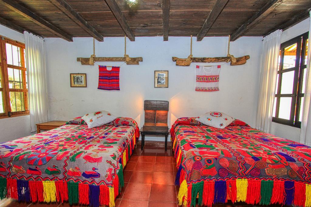 Una habitación del hotel museo Na Bolom