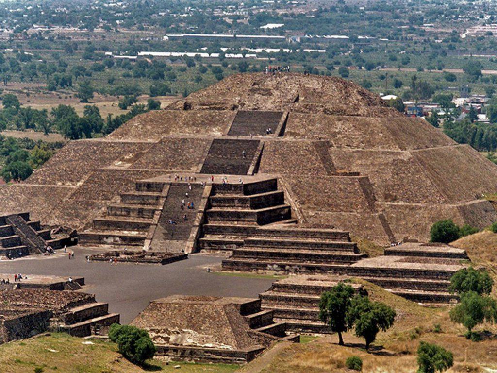 Pirámide de Teotihuacán