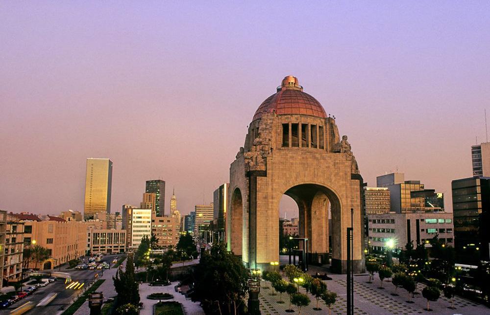 Monumento a la Revolucion en la Ciudad de México