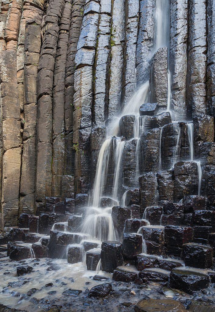 Prismas basalticos en Huasca de Ocampo