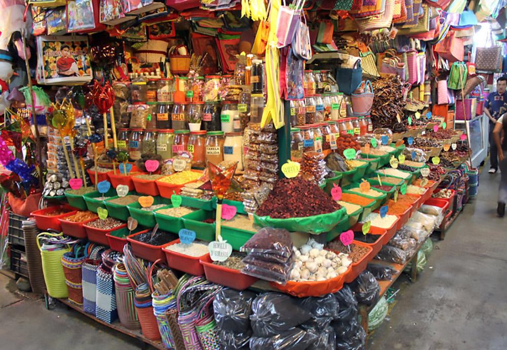 Mercado Benito Juarez en Oaxaca