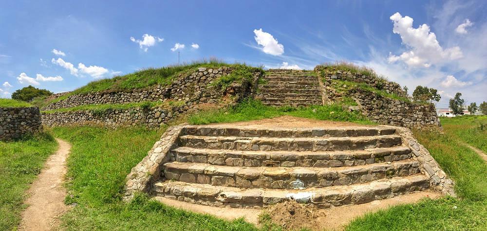 Zona arqueologica de Ixtepete